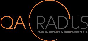 qa radius logo