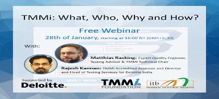 TMMi Webinar for India