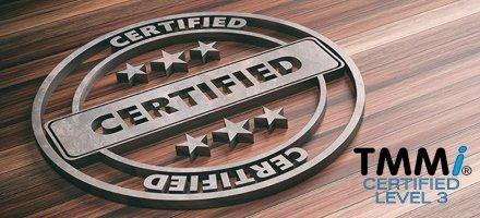 certified TMMi level 3